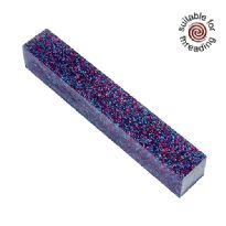Kirinite Multi Stardust Glitter pen blank